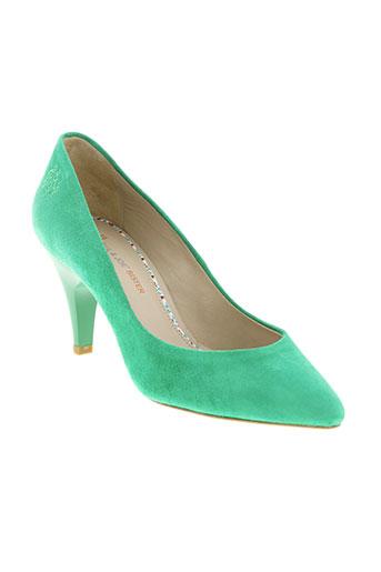 paul et joe escarpins femme de couleur vert