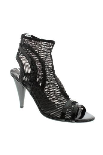 vic et matie sandales et nu et pieds femme de couleur noir