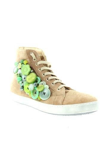 alto annalisa chaussures femme de couleur beige