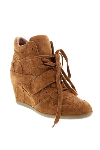 ash baskets femme de couleur marron