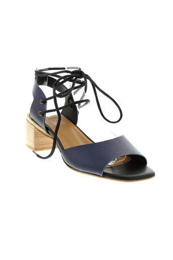 anaid kupuri chaussures femme de couleur bleu