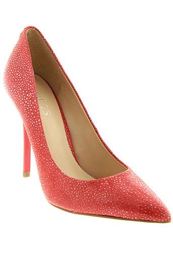 guess escarpins femme de couleur rose