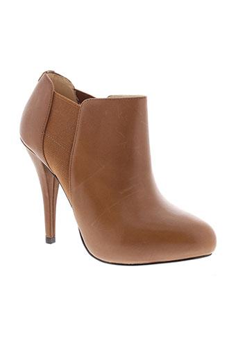 guess boots femme de couleur marron