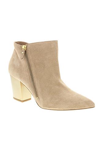 vic et matie boots femme de couleur beige
