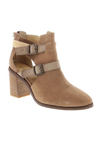 schmoove chaussures femme de couleur beige