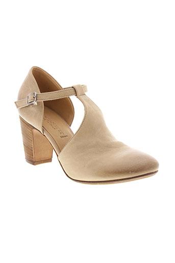 pantanetti chaussures femme de couleur beige
