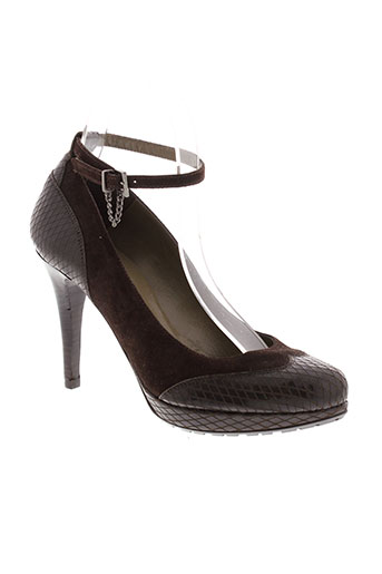 pepe castell chaussures femme de couleur marron