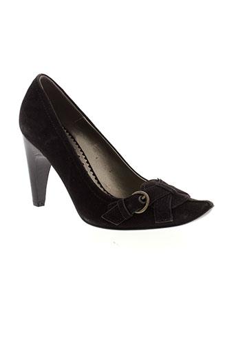 lat fem chaussures femme de couleur noir