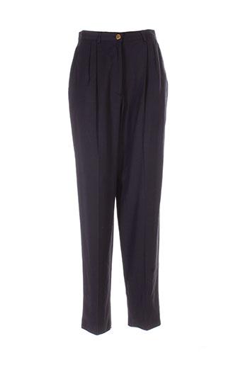 infinitif pantalons et decontractes femme de couleur bleu