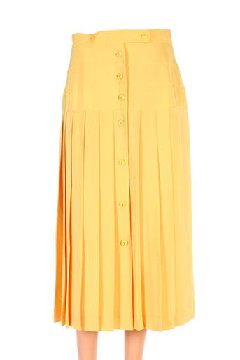 lenvol jupes femme de couleur jaune