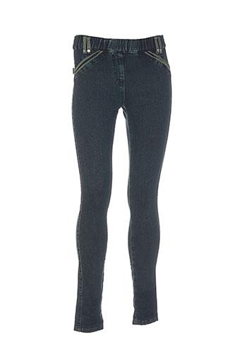 legzskin pantalons femme de couleur vert