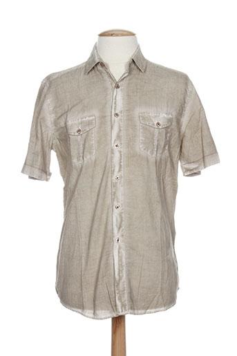 benson EFFI_CHAR_1 cherry chemises homme de couleur marron
