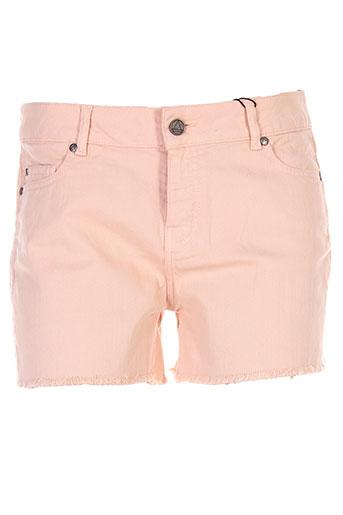 eleven paris shorts et bermudas femme de couleur rose