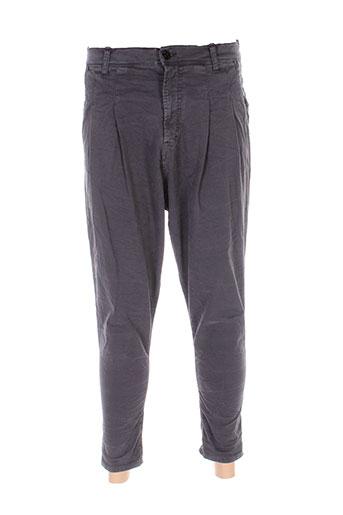 imperial pantalons homme de couleur gris
