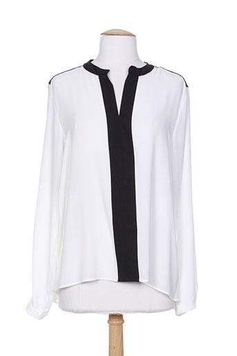 cotton brothers t-shirts femme de couleur blanc