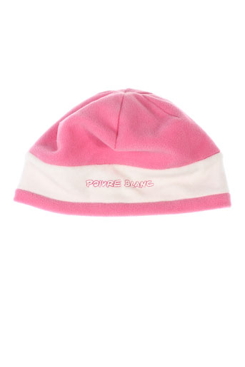 poivre blanc accessoires fille de couleur rose