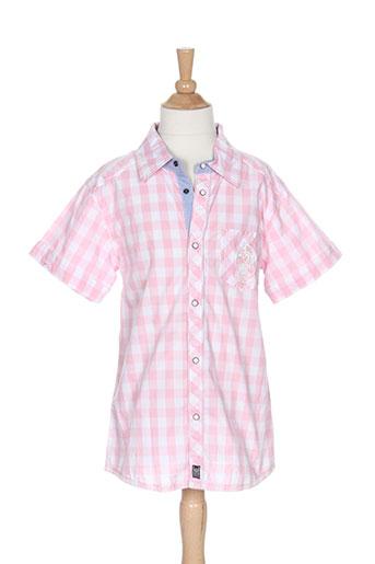 absorba chemises garçon de couleur rose