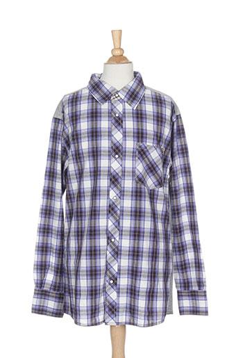 absorba chemises garçon de couleur bleu