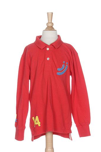 jn-joy t-shirts fille de couleur rouge