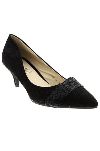 lily et shoes escarpins femme de couleur noir
