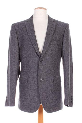 nino loretti vestes homme de couleur gris