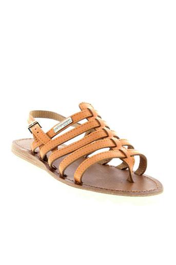 les et tropeziennes et par et m sandales et nu et pieds femme de couleur orange