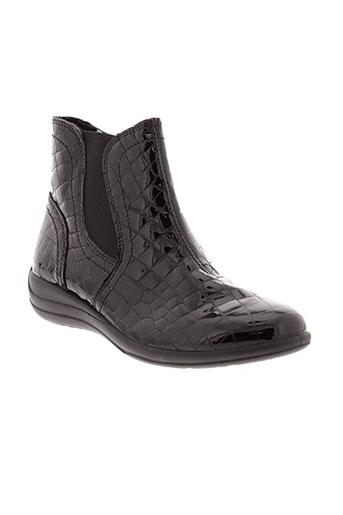 imac boots femme de couleur noir