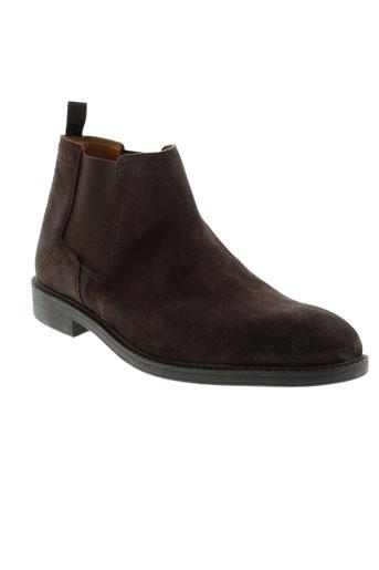 clarks boots homme de couleur marron