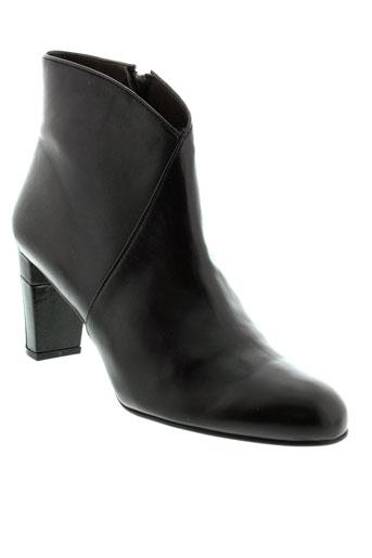 perlato boots femme de couleur noir
