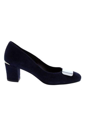 perlato escarpins femme de couleur bleu