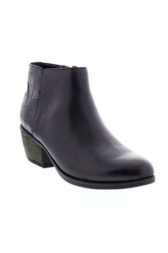 clarks boots femme de couleur noir