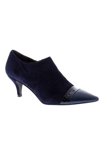 perlato boots femme de couleur bleu