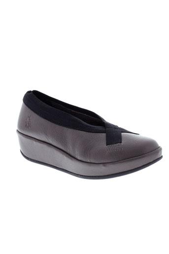 fly london chaussures femme de couleur marron