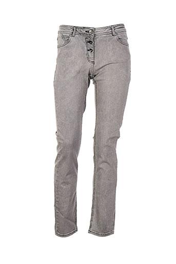 cecil jeans femme de couleur gris