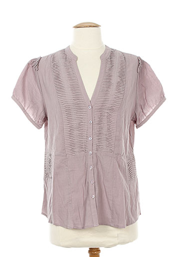 bohemia chemises femme de couleur rose