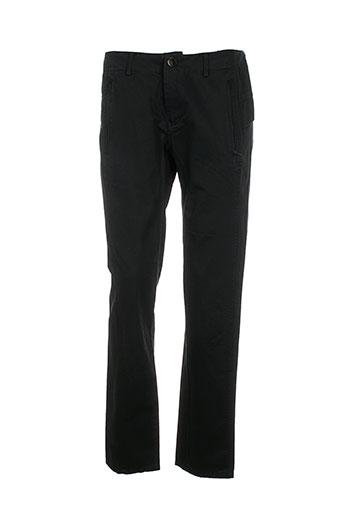 bohemia pantalons femme de couleur noir