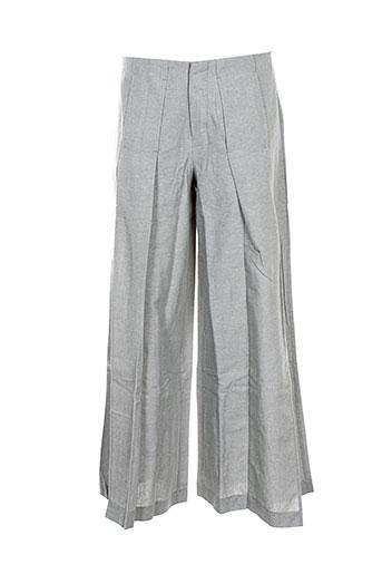 Pantalon chic gris BOHEMIA pour femme