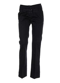 Pantalon casual bleu CNB pour femme