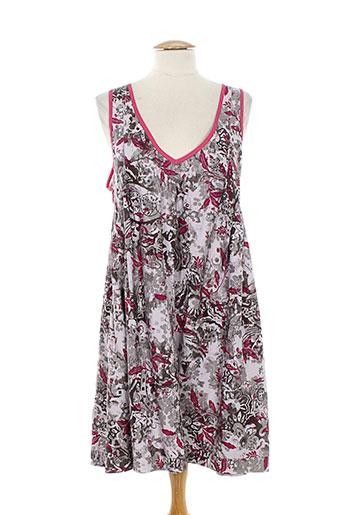 lino factory robes femme de couleur rose