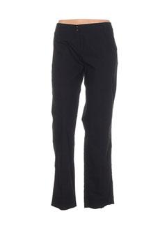 Pantalon casual noir HELENA SOREL pour femme