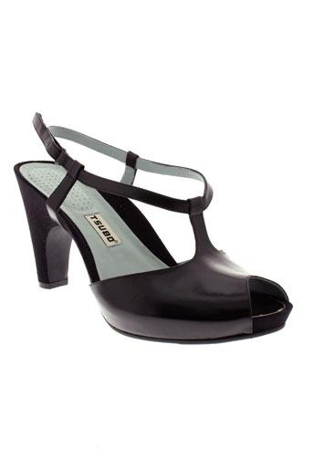 tsubo chaussures femme de couleur noir