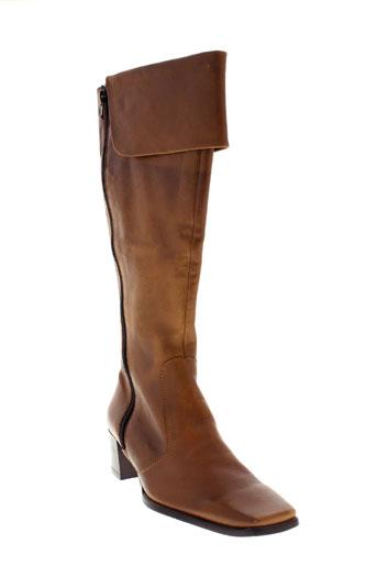 un tour en ville chaussures femme de couleur marron