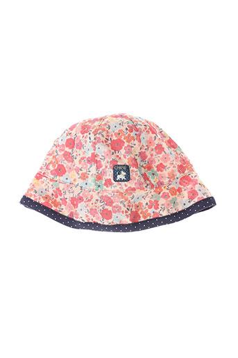 chipie chapeaux et bonnets fille de couleur orange