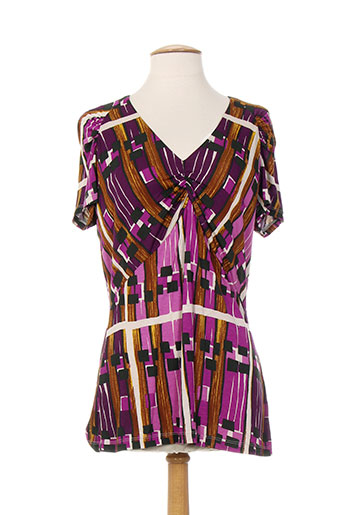 weekend maxmara t et shirts et tops femme de couleur violet