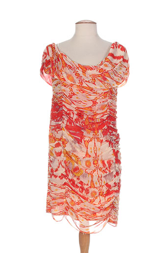 orna farho robes femme de couleur orange