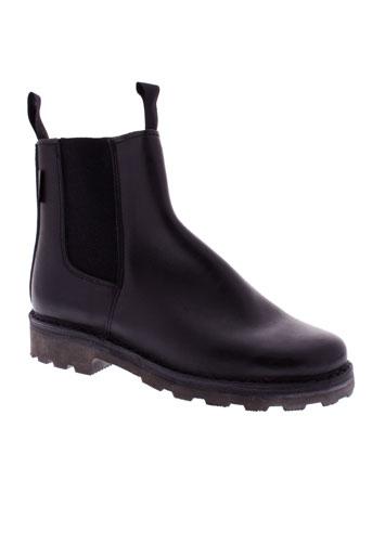 gatine boots unisexe de couleur marron