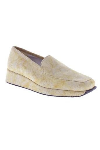 les greens chaussures femme de couleur beige