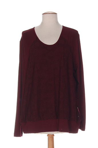 my way t-shirts femme de couleur rouge