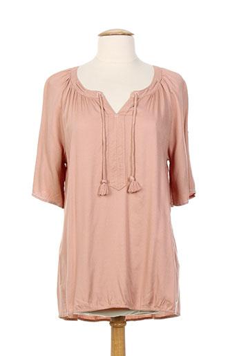 cecil chemises femme de couleur rose