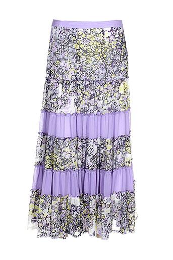 gelco jupes femme de couleur violet